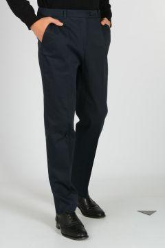 Pantaloni in Gabardina di Cotone Stretch