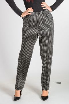 Dotted Jacquard TERRY Pants