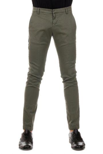Pantalone in Cotone Stretch