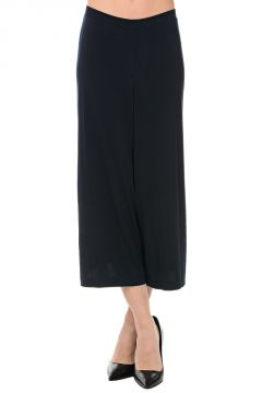 Pantaloni Crop in Tessuto Stretch