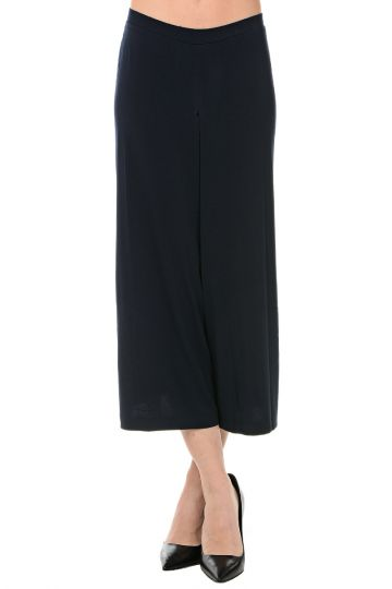 Pantaloni Crop in Tessuto Stretch
