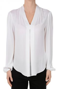 Silk Blouse V neck