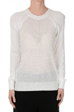 Glittered Round Neck Sweater