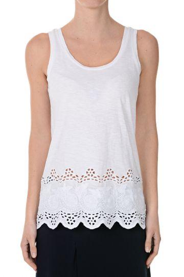 Cotton Sleeveless Top