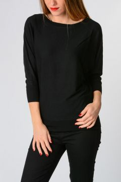 Batwing Sleeves Sweater