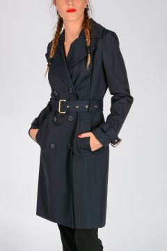 MICHAEL Cotton Blend Trench