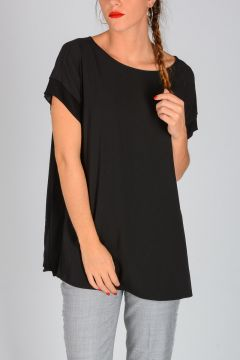 MICHAEL Stretch Fabric Top