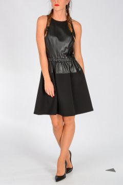 MICHAEL Leather Dress