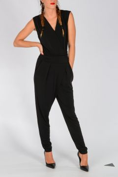 MICHAEL Stretch Fabric Jumsuit