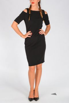 MICHAEL Stretch Fabric Dress