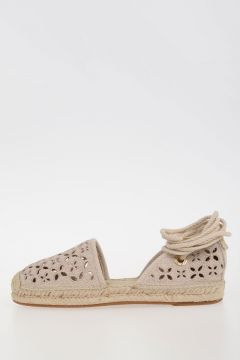 MICHAEL Embroidery DARCI CLOSED TOE Sandals