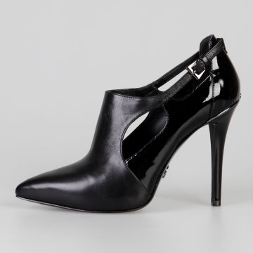 11 cm Patent Leather Pump Heel