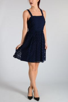 MICHAEL Macramé Dress