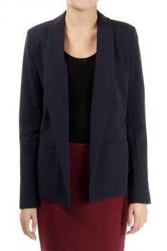 Single breast open blazer
