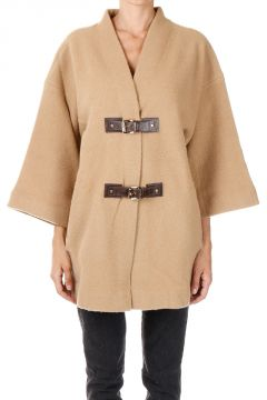 Wool Caban Coat
