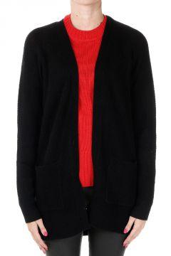 Cutwork Merino Wool & Cashmere Cardigan