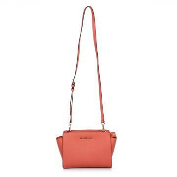 SELMA Leather Shoulder Bag