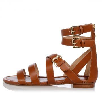 Sandalo JOCELYN FLAT in Pelle