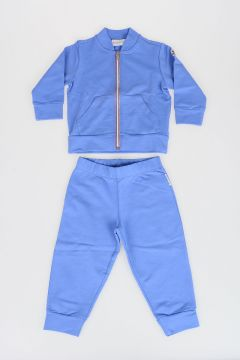 Stretch Cotton Two Pieces Jogger