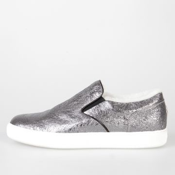 Silver Leather ROSELINE Sneakers