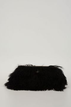 A PORTER Real Fur ELIANNE Bag