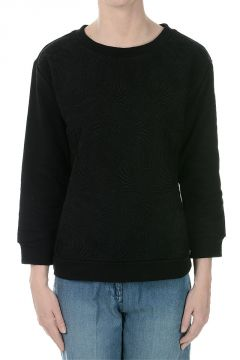 Roundneck Sweatshirt with Embroidery