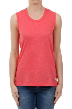 Slub Cotton Round Neck top