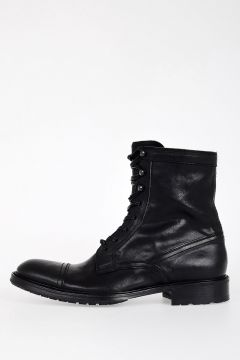 Leather GIANNI CUSNA Boots
