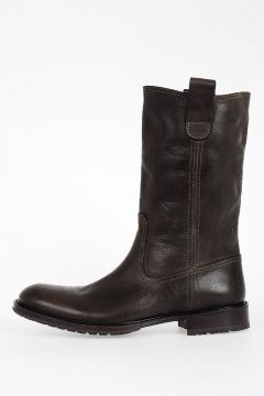 Leather RENE CUSNA Boots