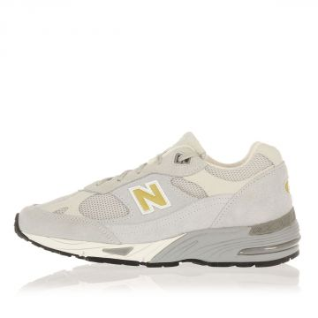 Sneakers in Tessuto e Camoscio con Logo