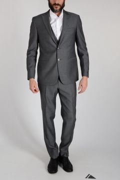 Virgin Wool CERIMONIA Suit Three Pieces