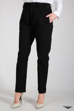 Pantalone in Cotone Stretch