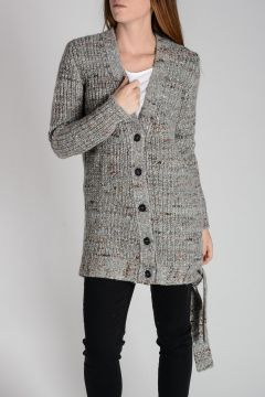 Cardigan in Lana e Seta
