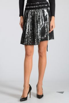 Sequins Embroidery Skirt