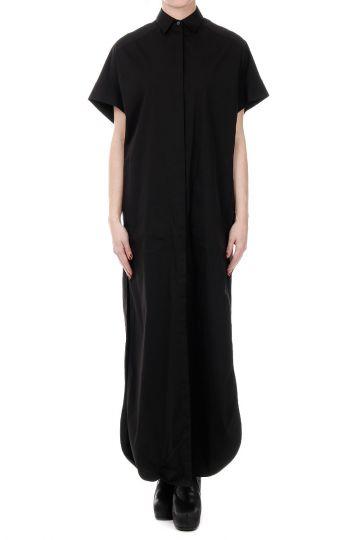 Vestito Shirt Oversized in Misto Cotone