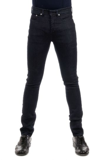 Jeans Super Skinny Fit in Denim Scuro 16 cm