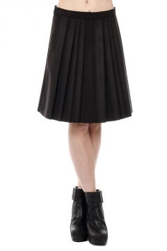 Knife-Pleated Skirt