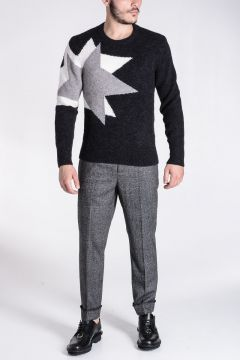 Mixed Alpaca Sweater