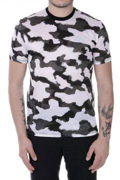 T-shirt Girocollo Stampata