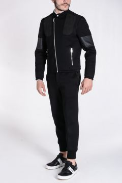 Giubbotto Biker SLIM FIT in Neoprene