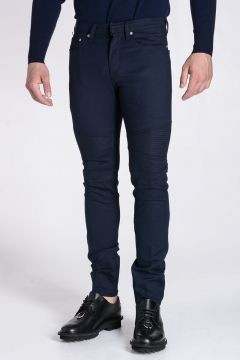 Stretch Cotton Skinny Fit Trousers