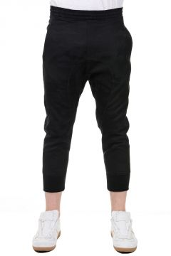 Wool Cropped Joggers