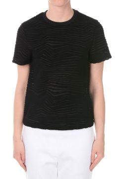 T-shirt Girocollo con Manica Corta