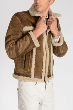 Giacca SKINNY FIT in Shearling