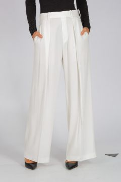 Wide Leg Stretch Pants