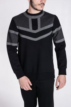 Neoprene Sweatshirt with Lateral Zip