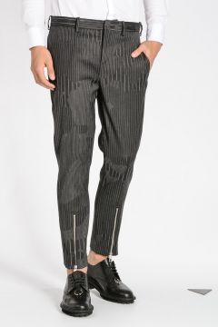 Pantaloni SUPER SKINNY FIT Gessati