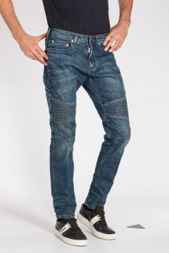 Jeans BIKER in Denim Stretch 17 cm