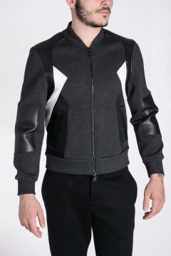 Felpa BOMBER FIT in Neoprene