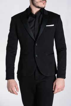 Stretch Viscose Tuxedo Jacket